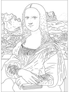 If I ever need coloring pages of famous paintingsI dont know