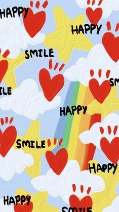 Hippie Wallpaper, Cute Pastel Wallpaper, Cute Patterns Wallpaper, Kawaii Wallpaper, Cute Wallpaper Backgrounds, Wallpaper Iphone Cute, Pretty Wallpapers, Cute Cartoon Wallpapers, Aesthetic Iphone Wallpaper