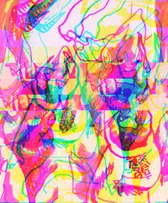 hoods and hats (databending collection, part 3)