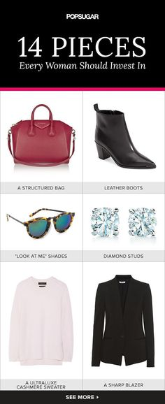 14 pieces every woman should invest in