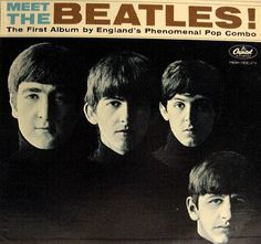 My first Beatles album.... My Dad bought it for me.   Meet the Beatles