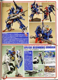 Custom Build: SD Tekku-Musya Haganemaru-Go - Gundam Kits Collection News and… Plastic Model Kits, Plastic Models, Frame Arms, Custom Gundam, Custom Paint Jobs, Gundam Model, Concept, Building, Anime
