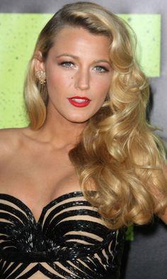 Bridesmaid Hairstyle: Kate Beckinsale's Sleek Half Up, Half Down Hairstyle, 2012