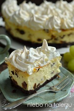 Baklava Cheesecake, Cookie Recipes, Dessert Recipes, Fudge Cake, Polish Recipes, Pastry Cake, Yummy Cakes, No Bake Cake, Sweet Tooth