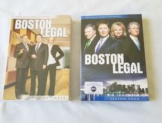Boston Legal Season 3 & 4 DVD Complete Set Sealed New | DVDs & Movies, DVDs & Blu-ray Discs | eBay!