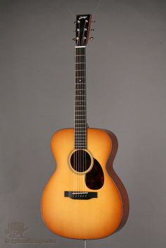 """New Collings OM1A, Sunburst top, 1 3/4"""" nut, 24 7/8"""" scale, Full bindng"""