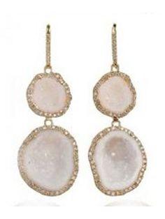 Geode Jewelry is always so pretty