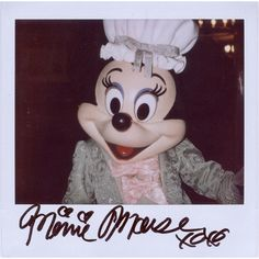 Portroids Presents ... Colonial Minnie Mouse ❤ liked on Polyvore featuring home, home decor, pictures, disney, polaroid, backgrounds, fillers, disney home decor and minnie mouse home decor
