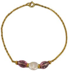 Bracelet Three Pearls