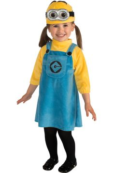 Despicable Me 2 Female Minion Infant/Toddler Costume - Pure Costumes
