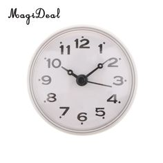 Buy MagiDeal Silicone Waterproof Kitchen Bathroom Bath Shower Suction Cup Clock for Bathrooms Kitchen -White Bathroom Bath, Bath Shower, Bathrooms, Mini, Questions, Styles, Kitchen White, Wall Clocks, Products
