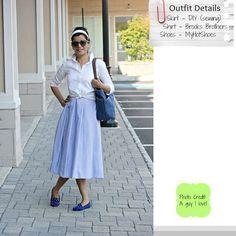Style-Delights: Lookbook: DIY Retro Style Pleated Skirt