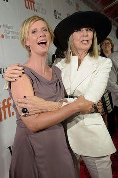 Diane Keaton and Cynthia Nixon