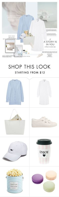 """Heaven Road/一路平安を祈る"" by rainie-minnie ❤ liked on Polyvore featuring Industrie, Uniqlo, Jil Sander, Ted Baker, MICHAEL Michael Kors, Vineyard Vines, The Hampton Popcorn Company and Ladurée"