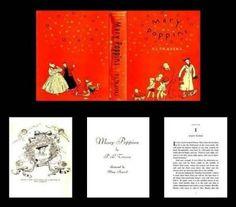 Mary+Poppins+Book+ +Mary's+Dollhouse+Miniatures