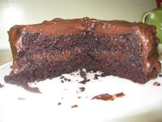 Martha Stewarts Gluten Free chocolate layer cake LOW FAT