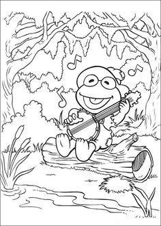 Muppets Fargelegging. Tegninger 53