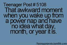Omg! I slept for a century!