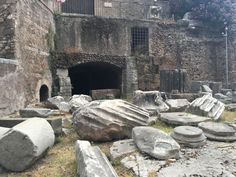 Teatro di Marcello. One of the many ancient ruin sites in Rome.