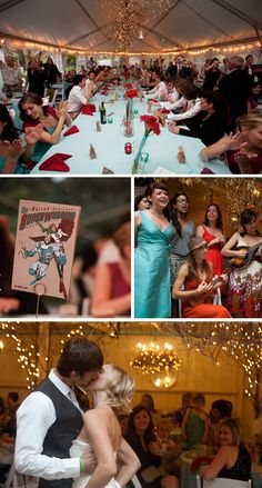 suddenly I want to have a superhero themed wedding.  Too cute!