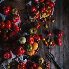flat lay photo food photography tomatoes