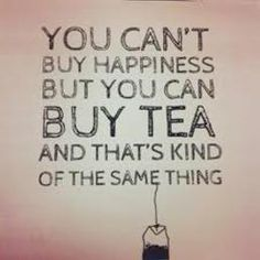 Tea... the sunshine of my mornings