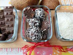 Di gotuje: Bajaderkowe kulki czekoladowo-kokosowe