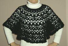 petite lacy poncho..free pattern