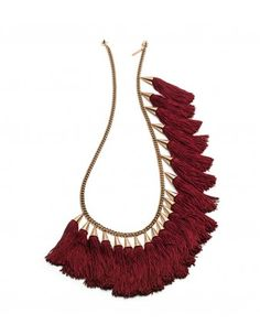Eddie Borgo Tassel Necklace - Shop ways to travel in fashion + win a $3,000 shopping spree!: http://shop.harpersbazaar.com/designers/emirates