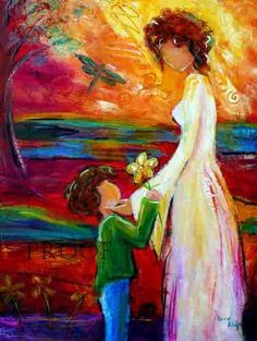 Mother and Son https://www.amazon.com/Painting-Educational-Learning-Children-Toddlers/dp/B075C1MC5T