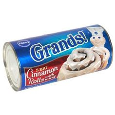 Pillsbury Grands!  Cinnabon Cinnamon Rolls with Icing. 1.5 grams per serving