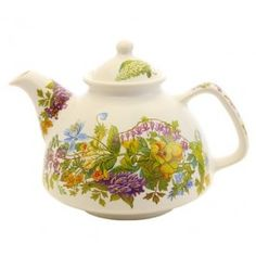 'The Flower Collection' Handmade/painted Ceramic Teapot ($15.00) | Catalogue of St Elisabeth Convent