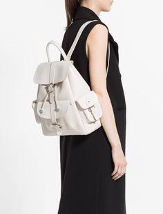 Looking for a fashionable yet comfortable bag? Backpacks are back!