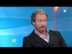 """Norwegian actor Kenneth Akerland Berg on the norwegian talkshow """"Ettermiddagen"""" on Tv2."""