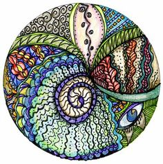 mix tape: Art 108: Zentangles