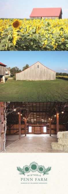 The barn at Historic Penn Farm is now available for event rentals! Rentals support Delaware Greenways, a non-profit committed to promoting outdoor connections for healthy, vibrant, sustainable communities throughout Delaware.
