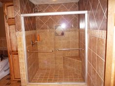 Image Detail for - ... custom ceramic tile backsplashes and stylish walk in showers for
