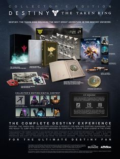 Destiny - The Taken King Collector's Edition - Detailed (got this preordered