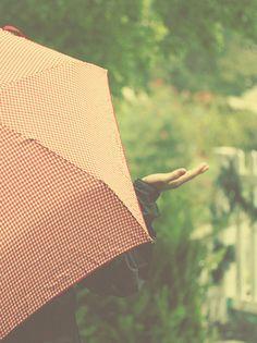 The joy of rain <3