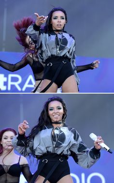 Tinashe performs on stage at the 2016 iHeartRadio Music Festival Daytime Village at The Lot on September 24, 2016 in Las Vegas, Nevada.