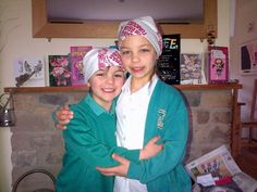 The Cole family are all WEARING OUR BANDANAS in support  ~  Carter and Millie