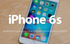 Llega la herramienta para comprobar el cambio de batería gratis del iPhone 6s http://blgs.co/OY10tZ