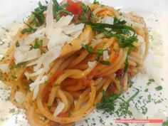 fischi`s cooking and more....: gemüse - bärlauch spaghetti