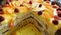 Бисквитена торта с крем Брюле - Рецепта. Как да приготвим Бисквитена торта с крем Брюле. Кликни тук, за да видиш пълната рецепта.