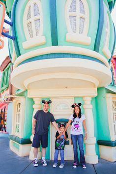 Disneyland Family Portraits