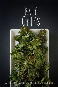 A Little Bit Crunchy A Little Bit Rock and Roll: Kale Chips