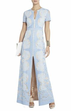 Cailean Lace Maxi Dress | BCBG  Look!  It comes in another color!