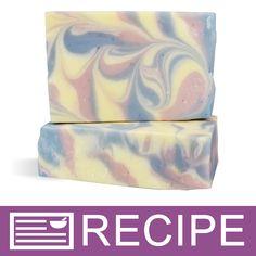RECIPE: Rose Quartz & Serenity Blue Column Swirl CP Soap - Wholesale Supplies Plus