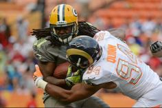 Eddie Lacy in pro bowl game 1-26-14