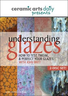 This DVD offers clear instruction on glaze development. A MUST HAVE!